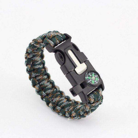 Men's Paracord Survival Bracelet - My zone out