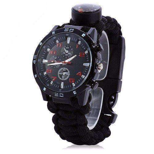 Black 6-1 Survival Watch