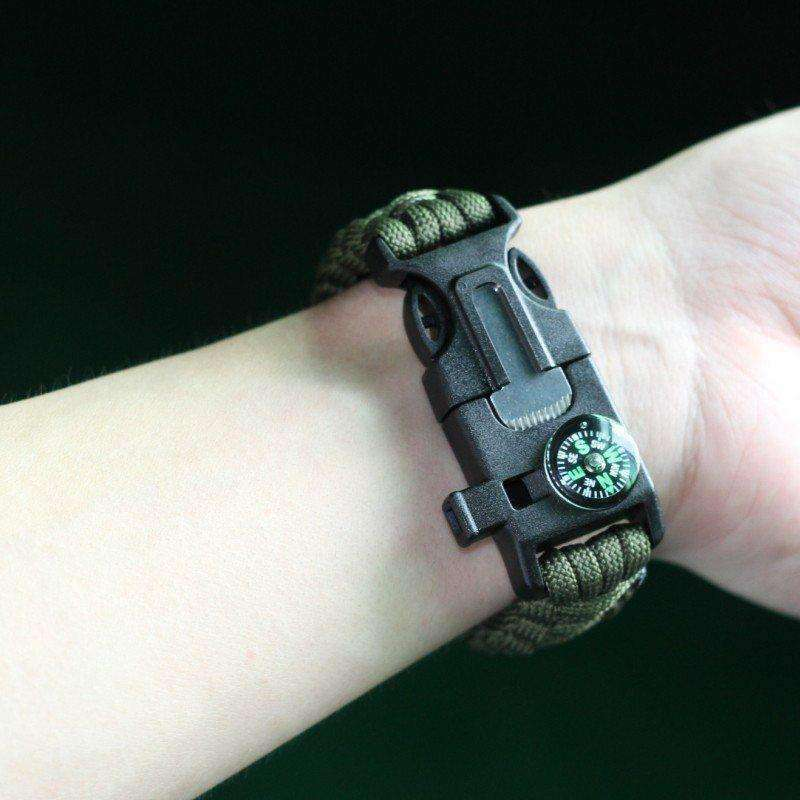 survival bracelet kit