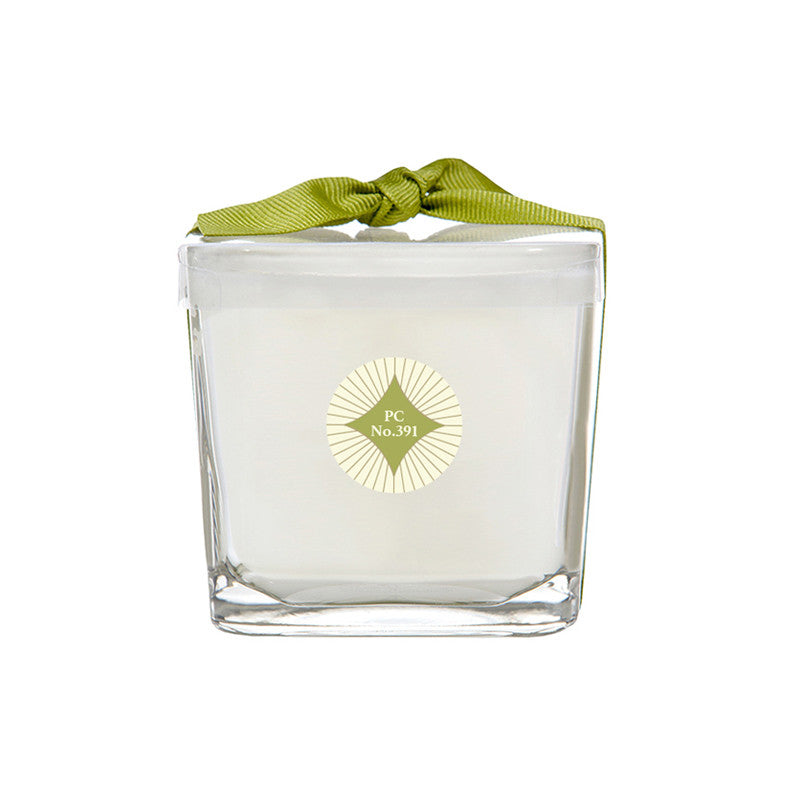 Pineapple Cilantro No. 391 Square Glass Candle
