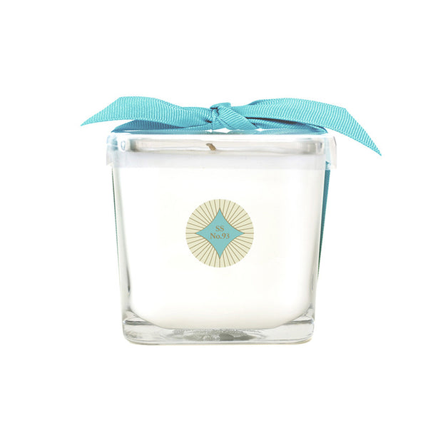 Seaside Legacy No. 93 Square Glass Candle