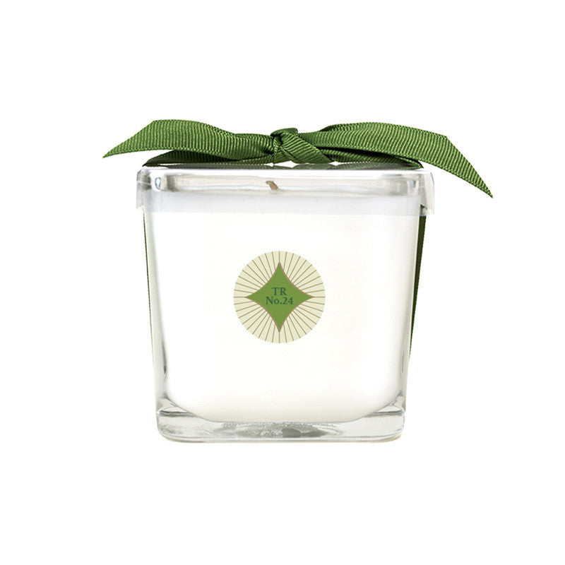 Traditions No. 24 Square Glass Candle