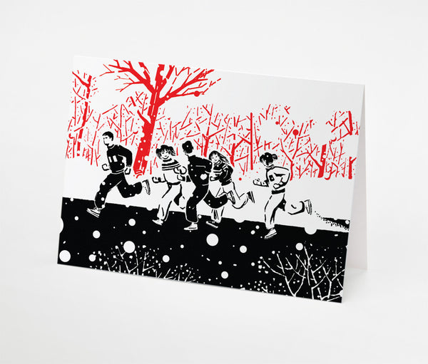 Park Run Notecard | Red Type Ink