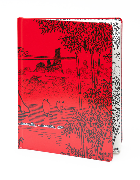 Lake Convoy Pocket Sketchbook | Red Type Ink