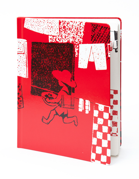 Laundry Kids Pocket Sketchbook | Red Type Ink