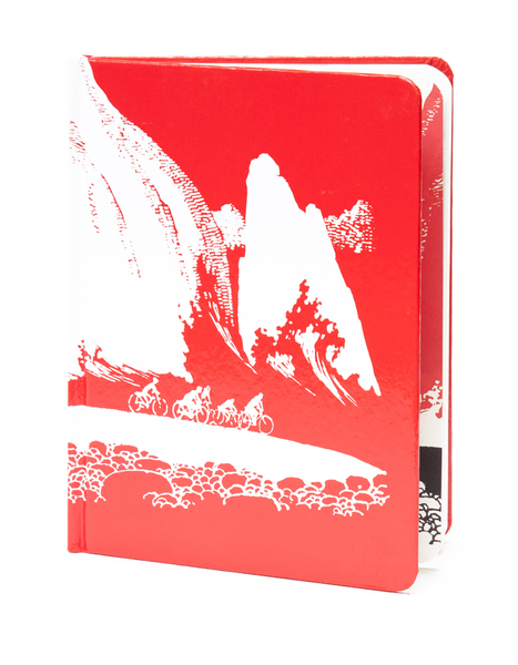 Mountain Race Pocket Sketchbook | Red Type Ink