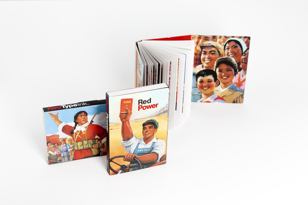 Red Power Postcard Book | Red Type Ink
