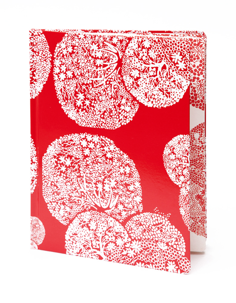 Red Trees Pocket Sketchbook | Red Type Ink