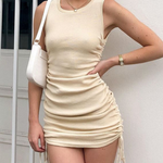 The Maya Dress Cream