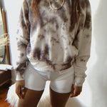 The Zinzi tie dye top - Natural