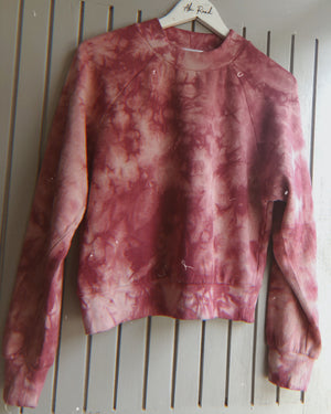 The Zinzi tie dye top - Pink