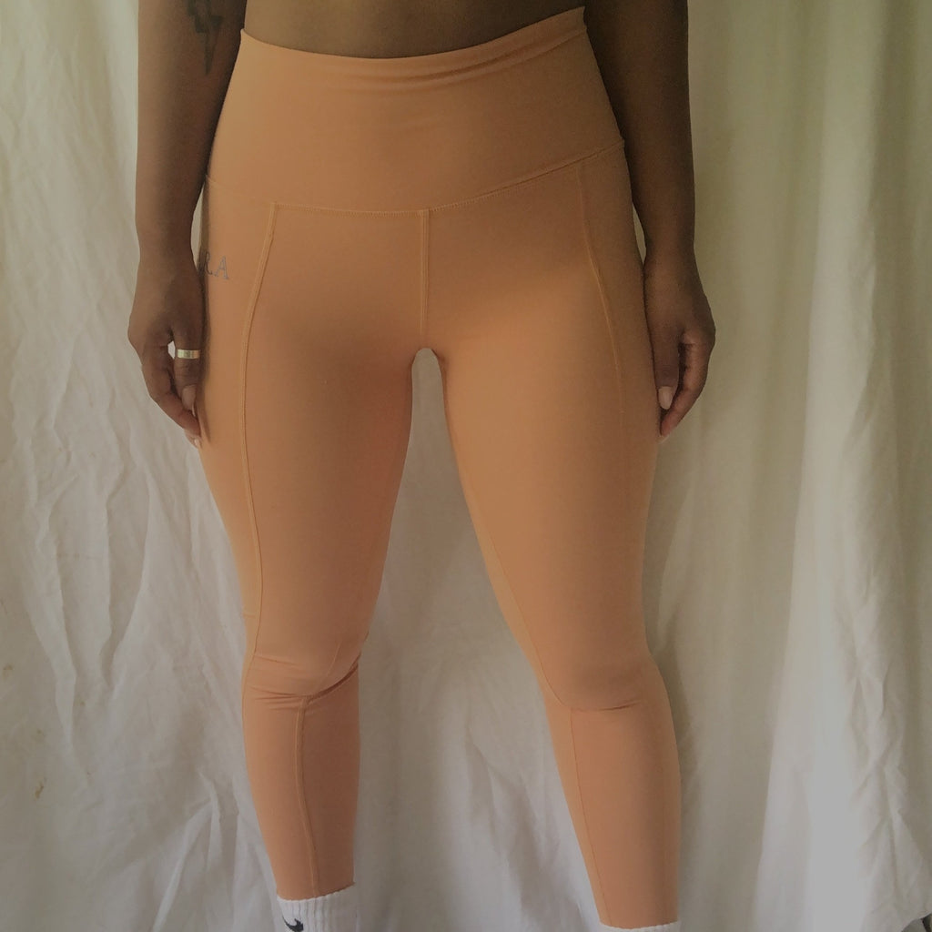Slinky leggings - Honey Latte - Preorder