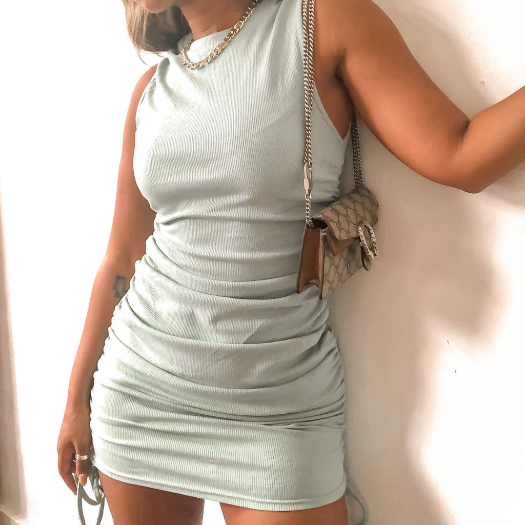 The Maya Dress Sage- Preorder