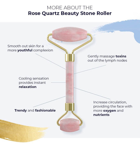 Alana Mitchell Beauty Stone Roller - Rose Quartz
