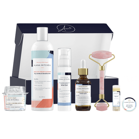 Alana Mitchell Morning and AM skincare Facial kit All Natural