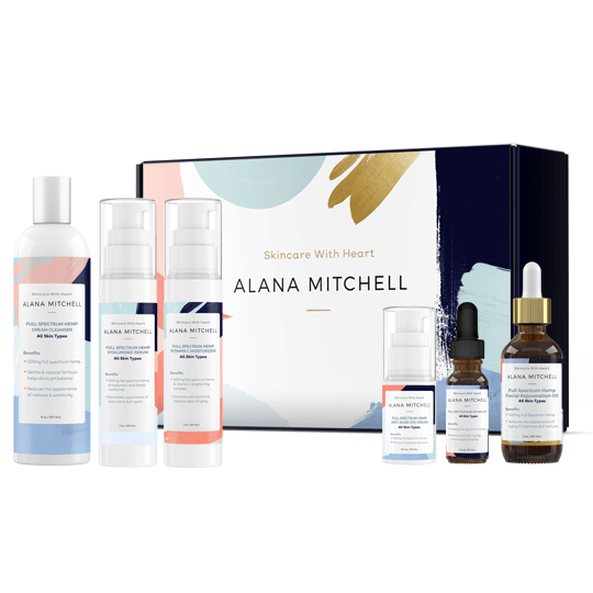 Alana Mitchell Hemp Collection Full Line Kit