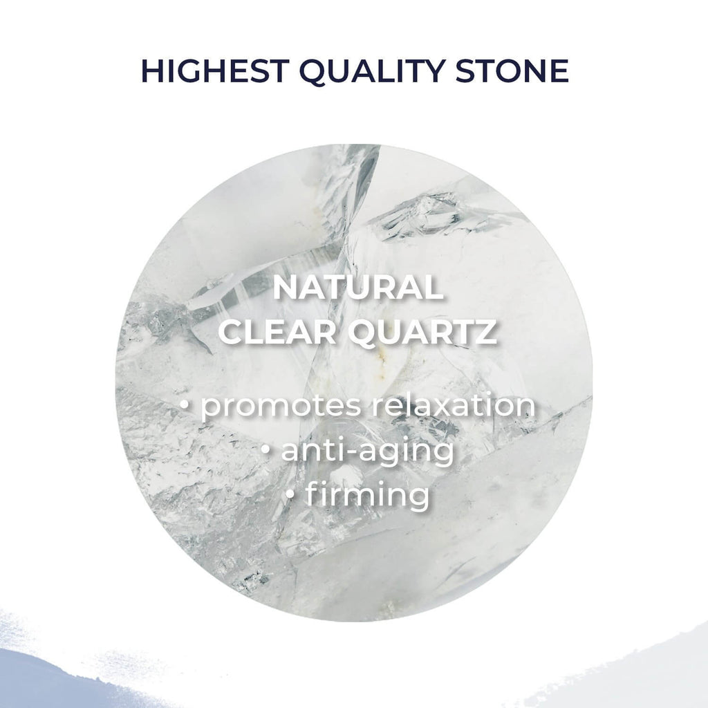 Alana Mitchell Beauty Stone Roller - Clear Quartz