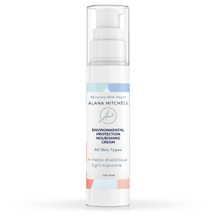 Alana Mitchell Environmental Protection Nourishing Cream 2oz - HEV and Blue Light Shielding
