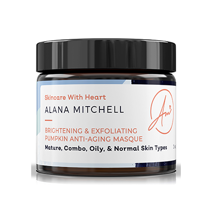 Alana Mitchell Brightening & Exfoliating Pumpkin Anti-Aging Masque - Alana Mitchell Skincare