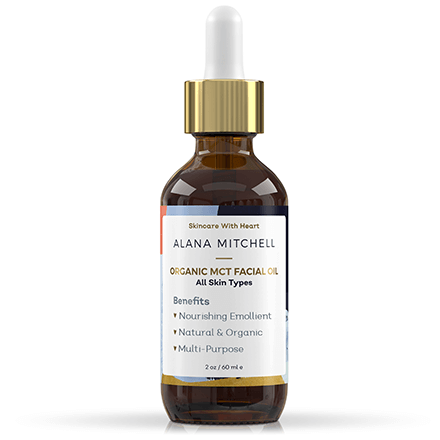 Alana Mitchell Organic MCT Facial Oil - Skincare from pure coconut oil