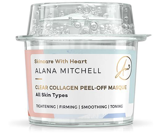 Alana Mitchell Clear Collagen Peel-Off Masque - Alana Mitchell Skincare