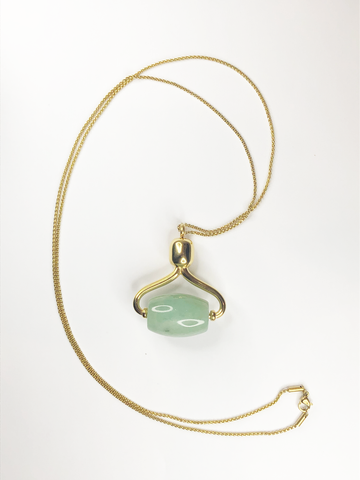 Alana Mitchell Jade Roller Necklace