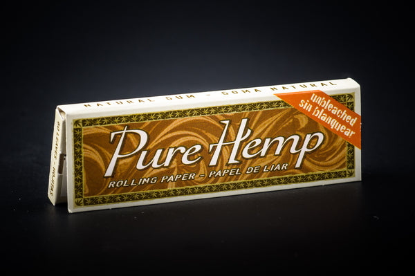 Pure Hemp Unbleached Single Wide Single Row