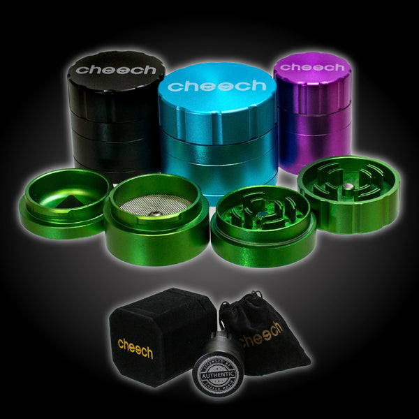 Cheech 3 Chamber Popnlock Grinder