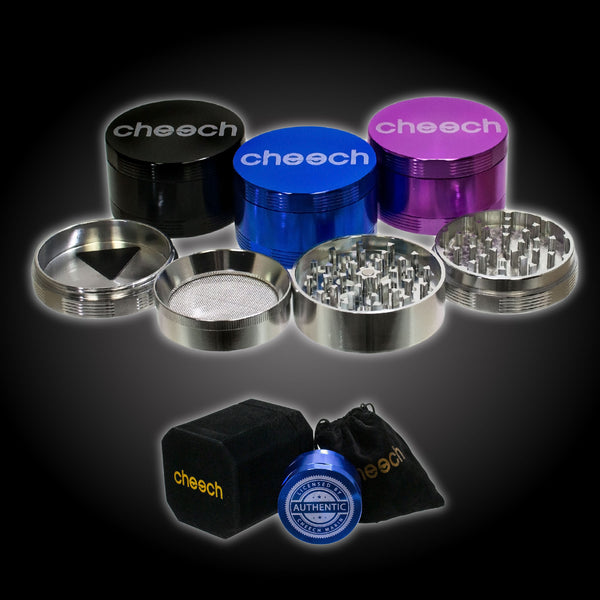 Cheech 3 Chamber Flat Top Grinder