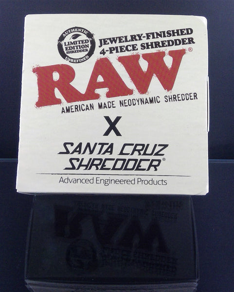 Santa Cruz Shredder + Raw 3 Chamber Grinder
