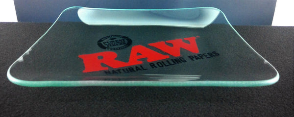 Limited Edition Glass Raw Rolling Tray