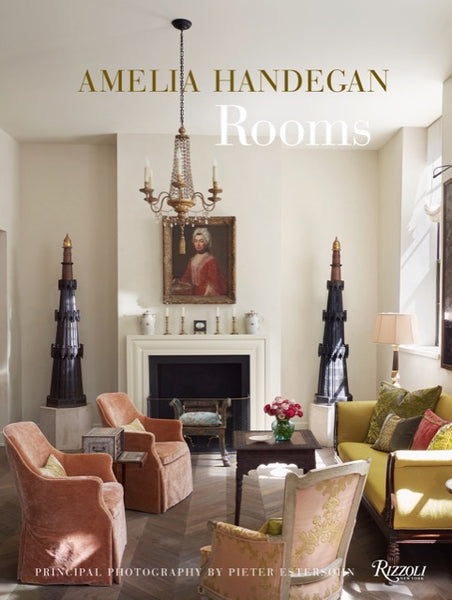Amelia Handegan's book Rooms published by Rizzoli