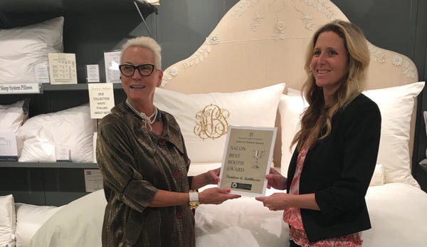 Pandora de Balthazar and Beata Antal with High Point award