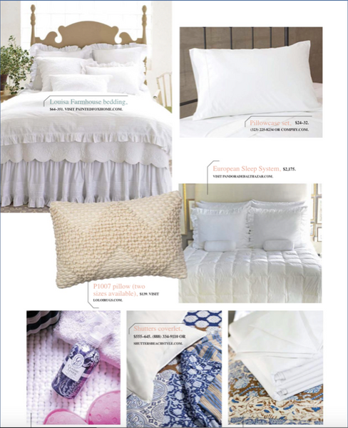 European Sleep System featured Cottage White Magzine