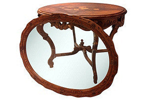 Antique Inlaid Coffee Table