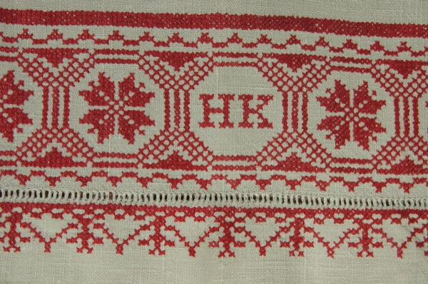 HK Detail Hand-Loomed Trousseau Panel