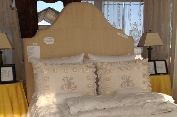 King Grande Upholstered Headboard