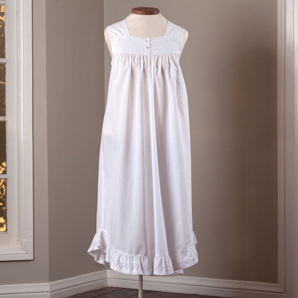 Ladies Embroidered Nightgown
