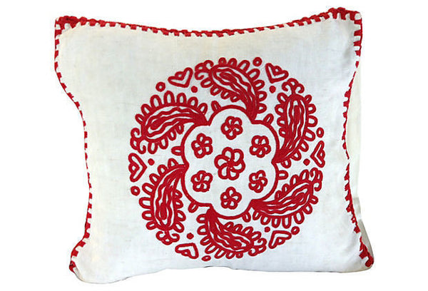 Hungarian Rework Erdely Style Pillow Cover