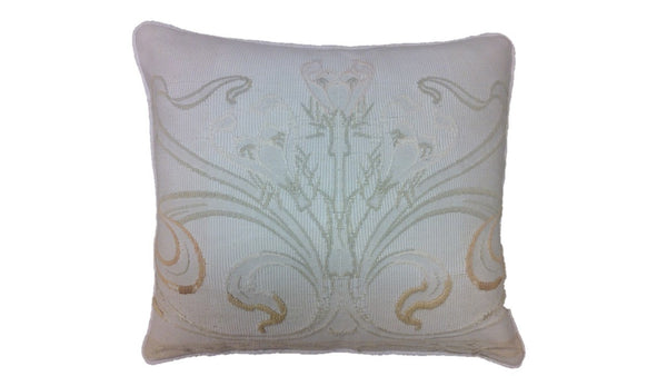 Antique Art Nouveau Tapestry Pillow Cover
