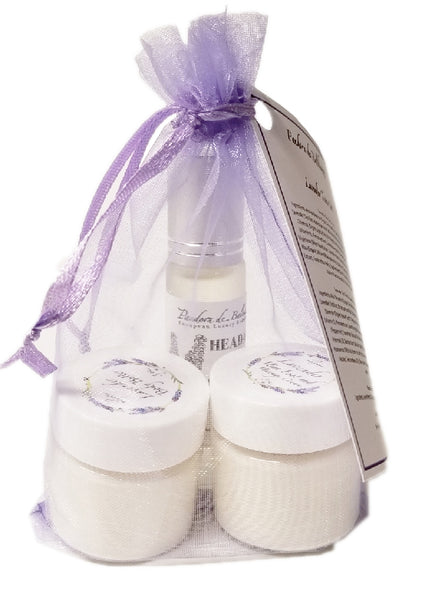 Mini Gift Set Lavender Creams and Headache Relief