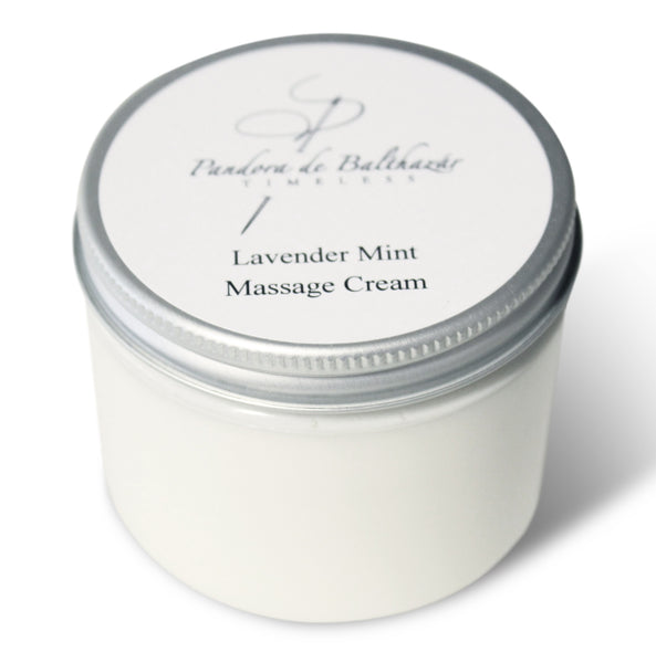 Lavender Mint Massage and Foot Cream, 6oz