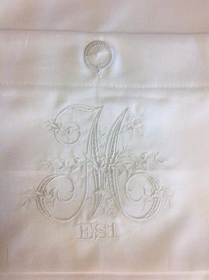 European Sham with Free Laundry Monogram