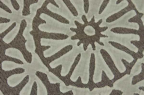 Rare White Buzsak Tablecloth Pandora de Balthazar