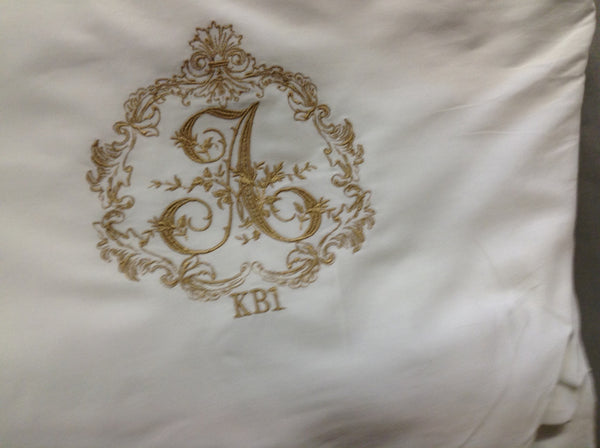 Stacey Style Monogrammed Sheet Set