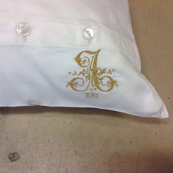 Stacey Style Monogrammed Shams
