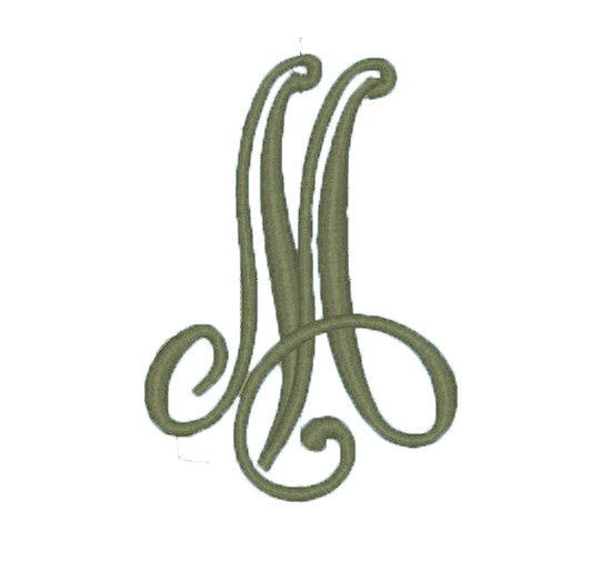 Standard Style Single Letter Monogram