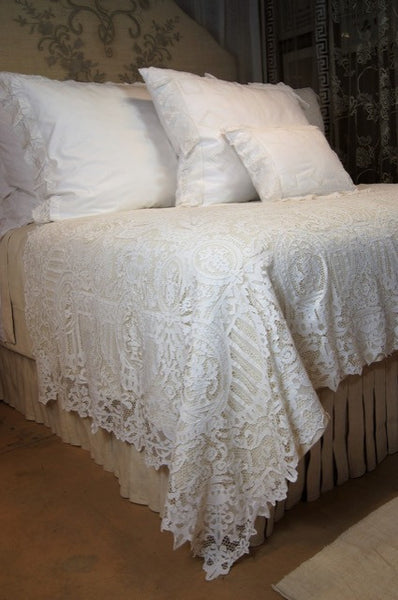Pointe De Venice Bedcoverlet or Tablecloth
