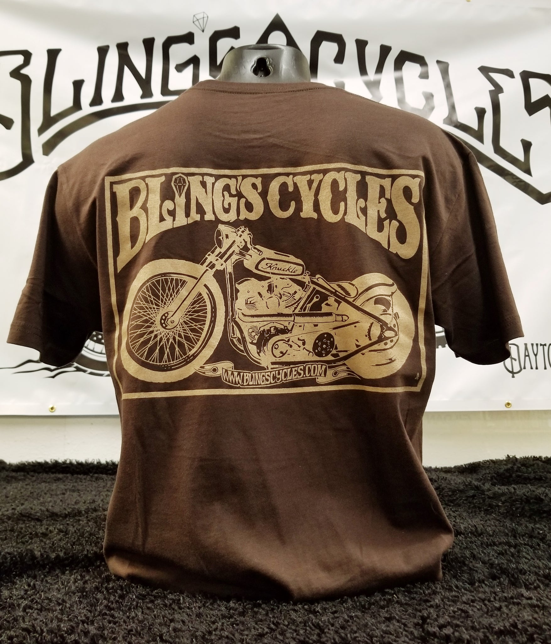 The brown Knuckle Tee