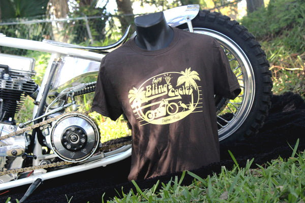 Bling's Cycles Brand: The Egret - Mens Short Sleeve T Shirt